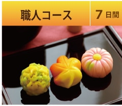 Japanese confection craftsman course [7days]